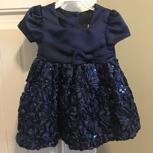 Girls 9 months holiday dress